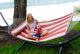 Гамак Tropical Malibu Set (белый/красный) -