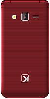 Мобильный телефон TeXet TM-400 (гранатовый) -