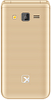 Мобильный телефон TeXet TM-400 (золото) -