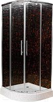 Душевой уголок Ventospa Standart A-LA 90x90 Clear Glass (прозрачное стекло) -
