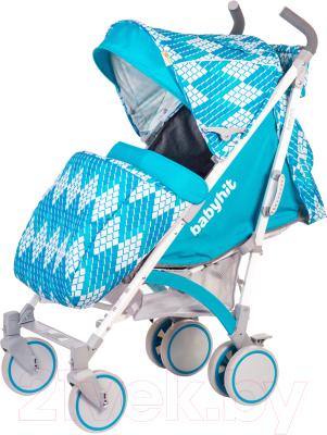 Детская прогулочная коляска Babyhit Rainbow 2017 Rhombus Blue