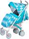 Детская прогулочная коляска Babyhit Rainbow 2017 Rhombus Blue -