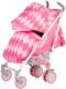 Детская прогулочная коляска Babyhit Rainbow 2017 Rhombus Red -