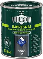 Защитно-декоративный состав Vidaron Impregnant V16 Антрацит (0.7л) -