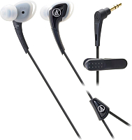 Наушники-гарнитура Audio-Technica ATH-SPORT2 BK -