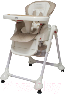 Стульчик для кормления Coto baby Zefir (11/бежевый)