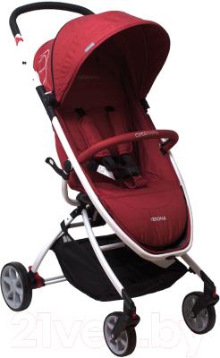 Детская прогулочная коляска Coto baby Verona (29/красный джинс)
