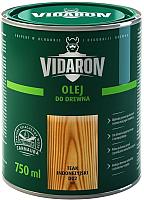 Масло для древесины Vidaron D02 Тик индонезийский (0.75л) -