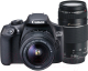 Зеркальный фотоаппарат Canon EOS 1300D 18-55mm+75-300mm RUK (1160C045) -