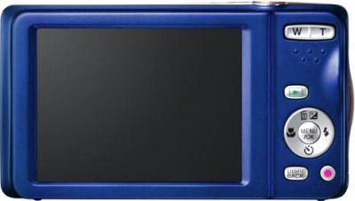 Компактный фотоаппарат Fujifilm FinePix T400 Blue - вид сзади