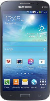 Смартфон Samsung Galaxy Mega 5.8 Duos / I9152 (черный) - вид спереди