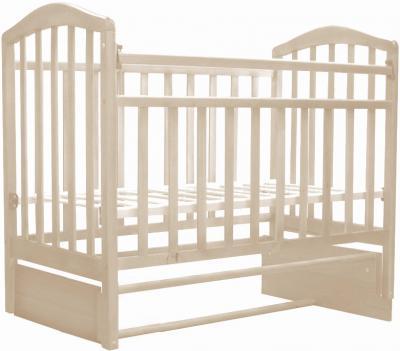 Детская кроватка Антел Алита-5 (Слоновая кость) - общий вид