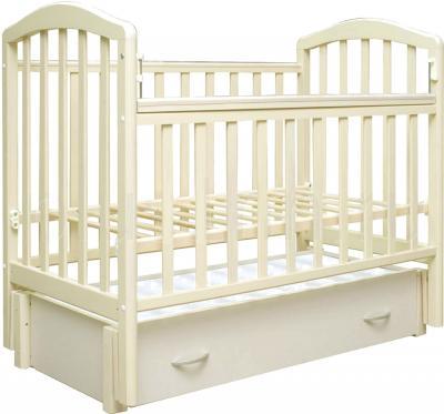 Детская кроватка Антел Алита-6 (Слоновая кость) - общий вид