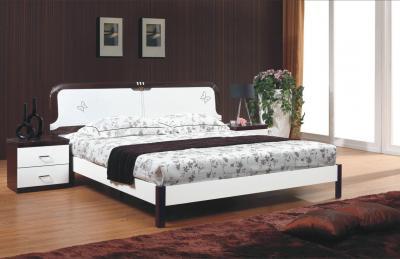Кровать Королевство сна Paola-003 180х200 (белый глянец с венге) - в интерьере
