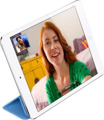 Планшет Apple iPad mini 32GB / MD532TU/A (белый) - на подставке