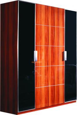 Шкаф Королевство сна Gabriella-003 (коричневый с черным) - общий вид