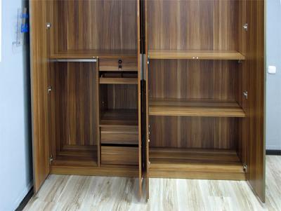 Шкаф Королевство сна Gabriella-003 (коричневый с черным) - в открытом виде