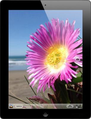 Планшет Apple iPad 4 128GB Black (ME392TU/A) - фронтальный вид