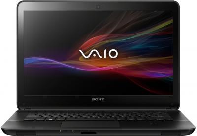 Ноутбук Sony Vaio SVF14A1S9RB - фронтальный вид