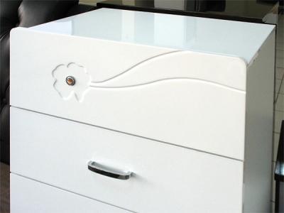 Комод Королевство сна Bellezza-001 (сиреневый с белым, 5 ящиков) - верхний ящик
