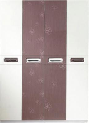 Шкаф Королевство сна Bellezza-001 (сиреневый с белым) - общий вид
