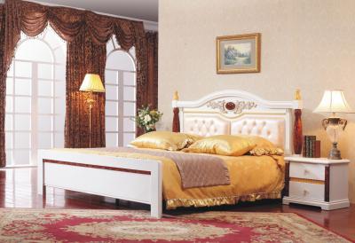 Кровать Королевство сна Patrizia-001 180x200 - в интерьере