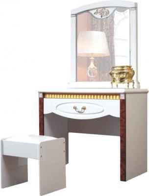 Туалетный столик с зеркалом Королевство сна Patrizia-003 - общий вид