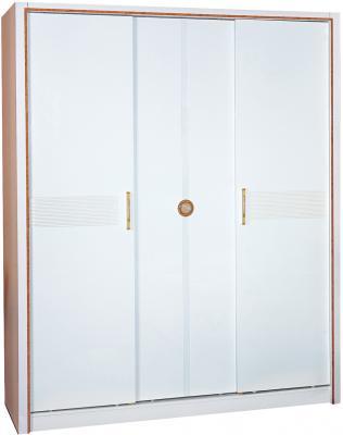 Шкаф Королевство сна Bianchi-808 (белый с золотом) - общий вид