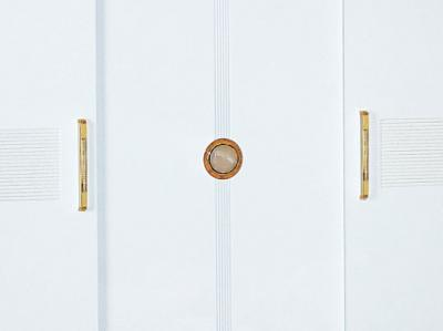 Шкаф Королевство сна Bianchi-808 (белый с золотом) - двери шкафа