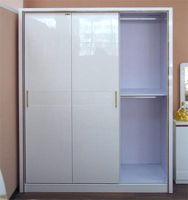 Шкаф Королевство сна Bianchi-808 (белый с золотом) - полки