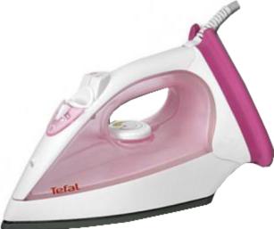 Утюг Tefal FV2120E0 (White-Pink) - общий вид