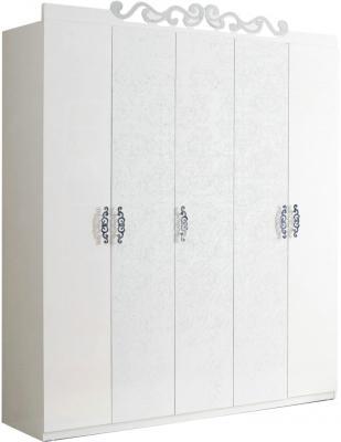 Шкаф Королевство сна Prestigio-001 (перламутровый с серебром) - общий вид
