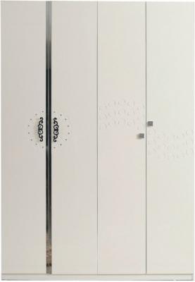 Шкаф Королевство сна Prestigio-003 (перламутровый с серебром) - общий вид