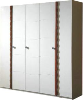 Шкаф Королевство сна Antonietta-002 (коричневый с белым) - общий вид