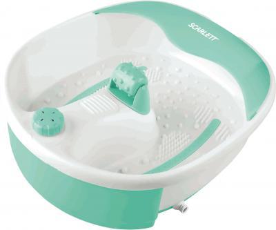 Ванночка для ног Scarlett SC-1203 (бело-зеленый) - общий вид