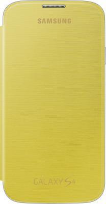 Чехол-флип для Samsung I9500 Samsung EF-FI950BYEGRU Yellow - общий вид