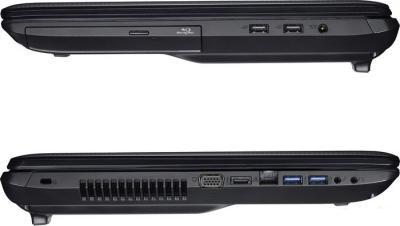 Ноутбук Asus K95VJ (90NB00C1-M00950) - разъемы