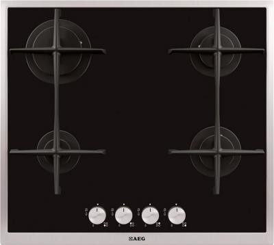 Газовая варочная панель AEG HG694340XB - общий вид