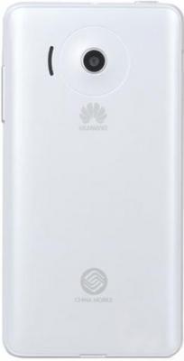 Смартфон Huawei Ascend Y300 (T8833) White - вид сзади
