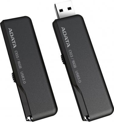 Usb flash накопитель A-data Classic Series C103 8 Gb (AC103-8G-RBK) - общий вид