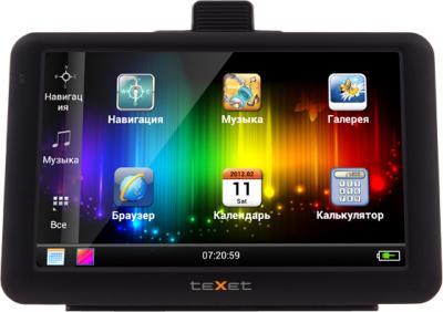 GPS навигатор TeXet TN-560A (Black) - общий вид