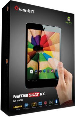 Планшет IconBIT NetTAB SKAT RX 8GB (NT-0802C Black) - коробка