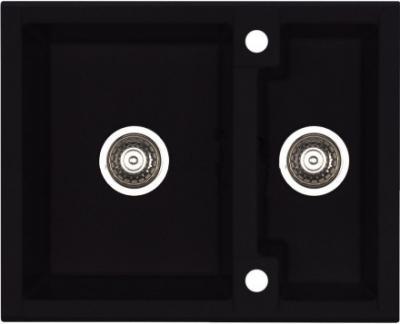 Мойка кухонная Alveus Cubo 20 (Carbon) - общий вид
