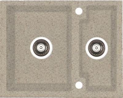 Мойка кухонная Alveus Cubo 20 (Beige) - общий вид