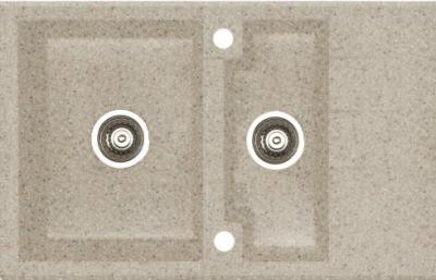 Мойка кухонная Alveus Cubo 40 (Beige) - общий вид