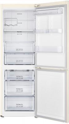 Холодильник с морозильником Samsung RB29FERMDEF - с открытой дверью