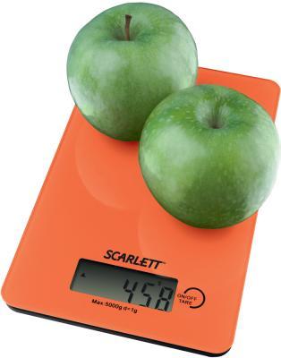 Кухонные весы Scarlett SC-1212 Orange - общий вид