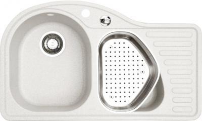 Мойка кухонная Alveus Futur 50 L (Arctic) - с коландером в доп. чаше