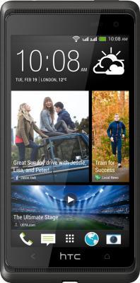 Смартфон HTC Desire 600 (Black) - вид спереди