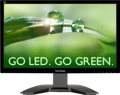 Монитор Viewsonic VA1911a-LED - фронтальный вид